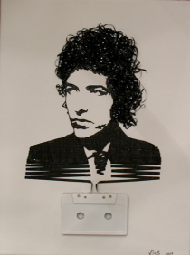 Ghost in the Machine: Bob Dylan (by Iri5)