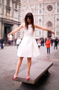 vestido blanco betty