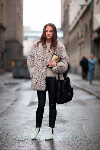 Chaqueta borreguito Stockholm Streetstyle