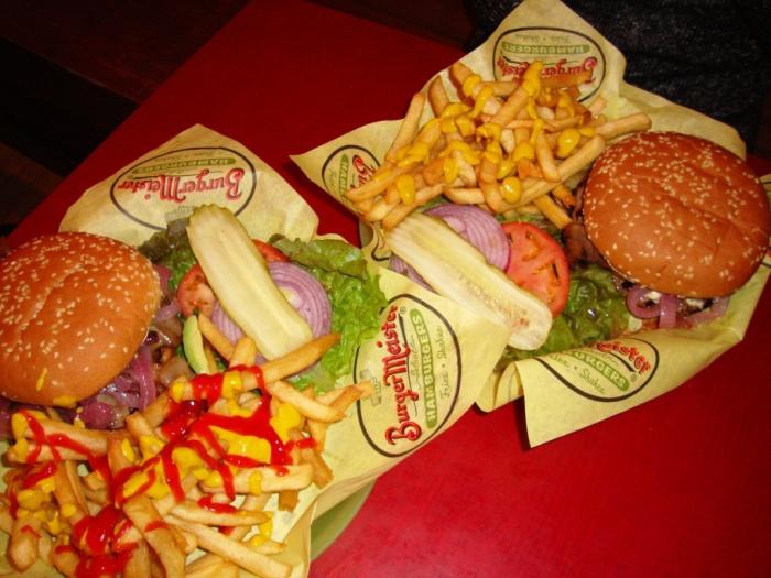 Hamburguesa en Burgermeister