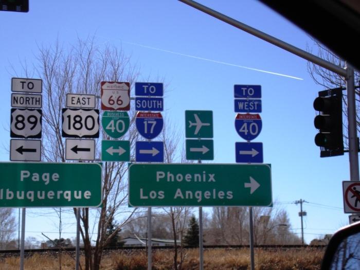 Señales Ruta 66
